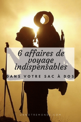 Votre Sac Dans 6 À DosTravel Indispensables Affaires De Voyage dWrBCxoe