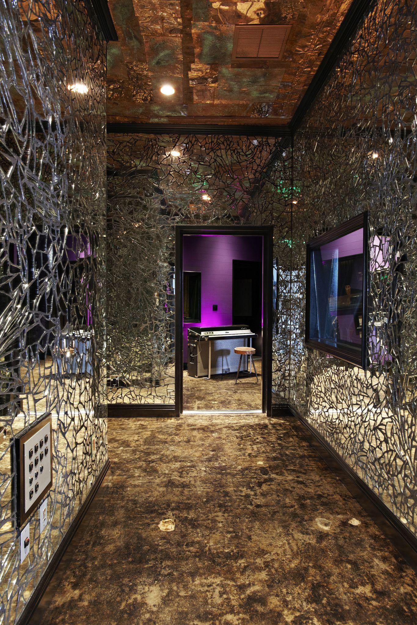PLAYBACK RECORDING STUDIO ECHO CHAMBER Mirror wall art