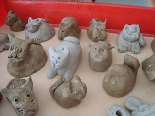 How to make pinch pot cats