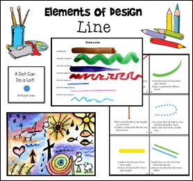 Elements Of Design Line Art Lesson From Www