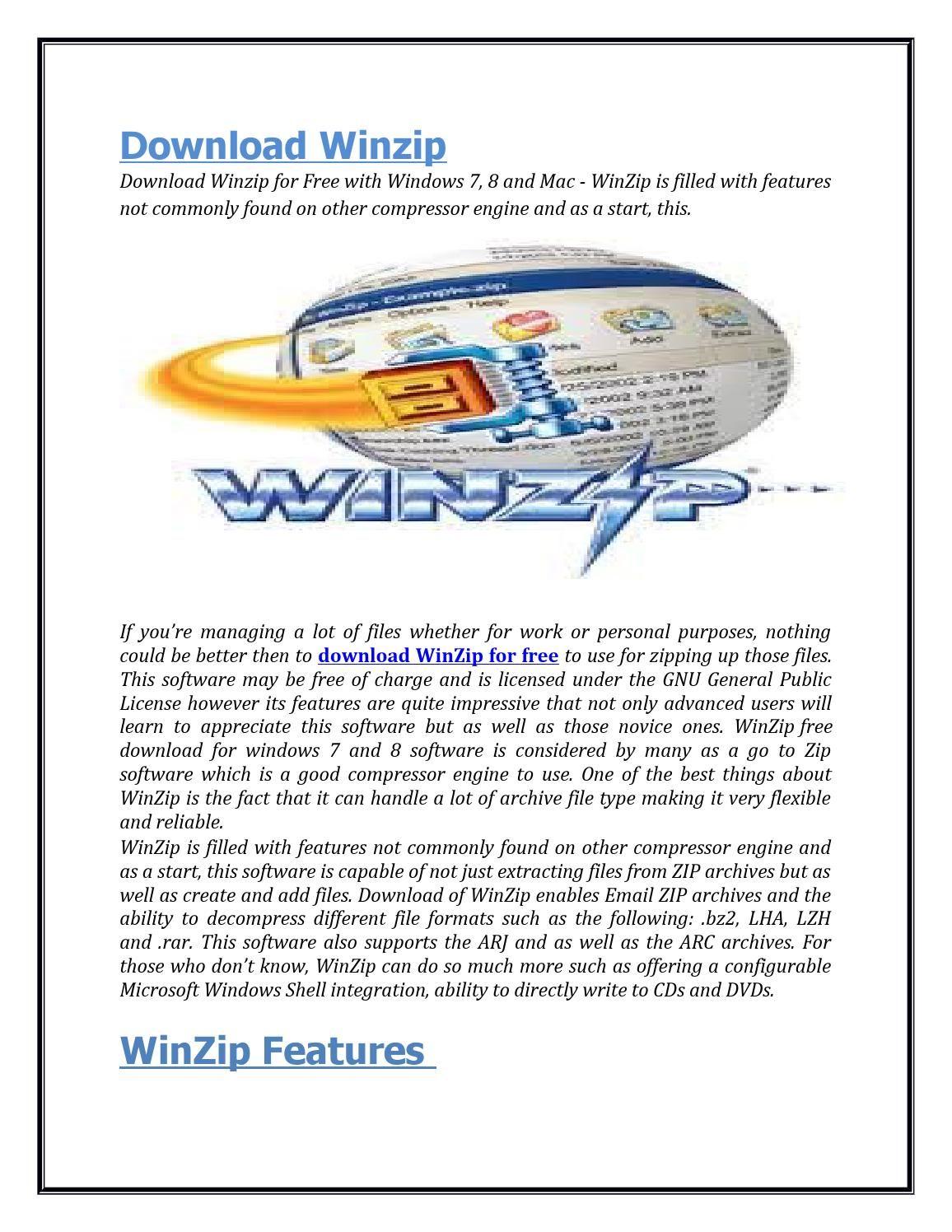 دانلود winzip ویندوز 7