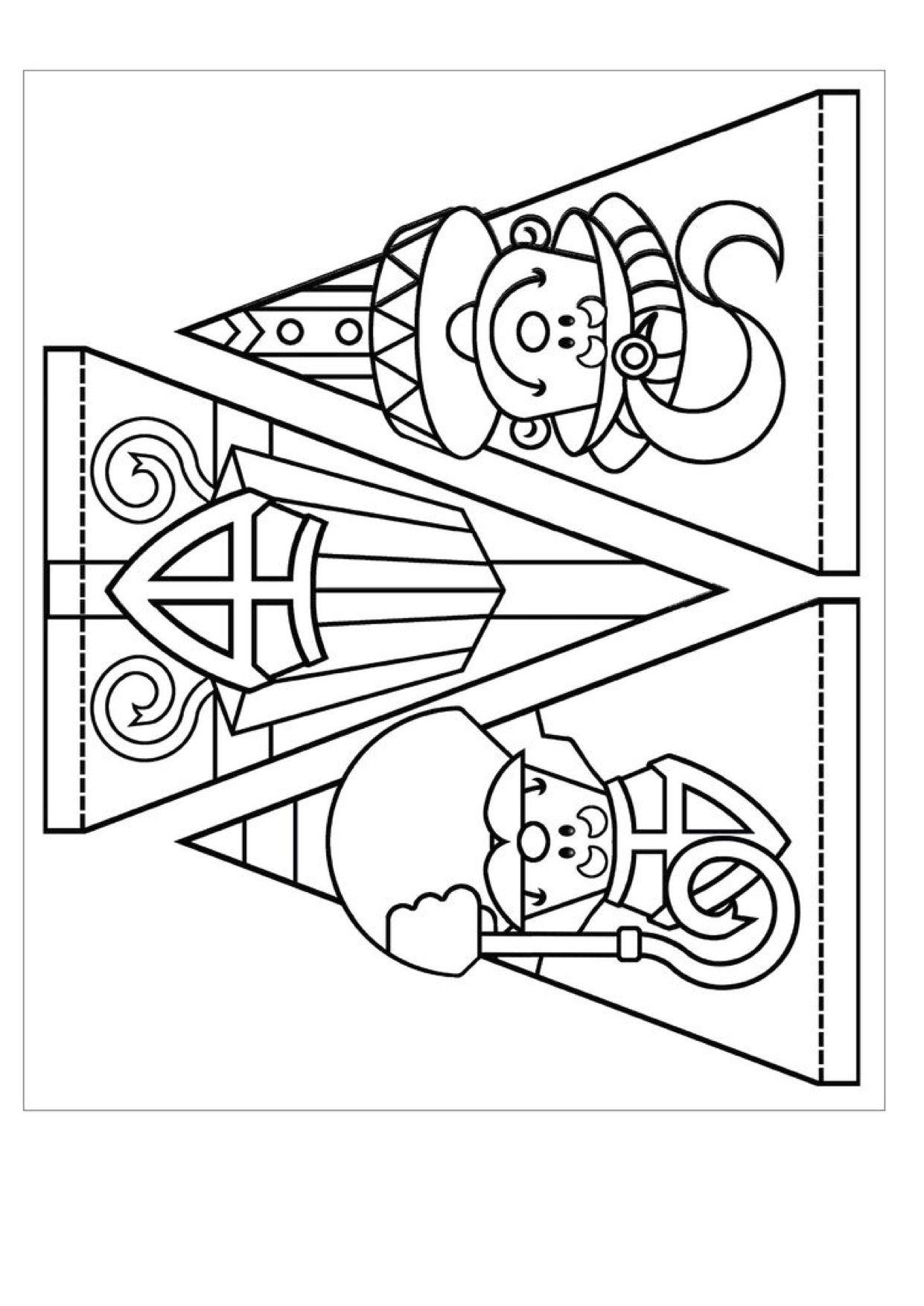 Vlaggetjes Vlaggenlijn Sinterklaas Sinterklaas Knutselen Sinterklaas
