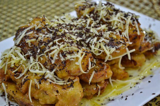 Masakan Masa Kini Resep Cara Membuat Pisang Coklat Keju Kriuk Masakan Makanan Dan Minuman Masakan Korea
