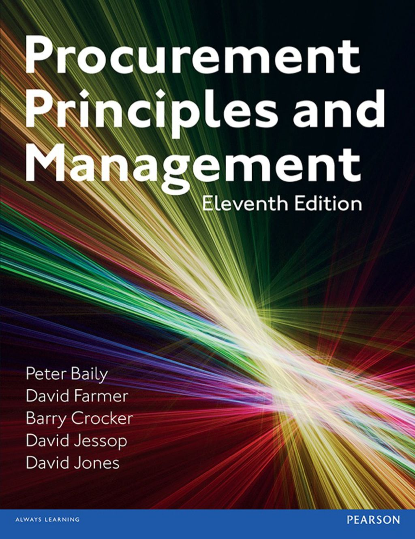 Procurement Principles & Management (eBook) in 2019 | Products