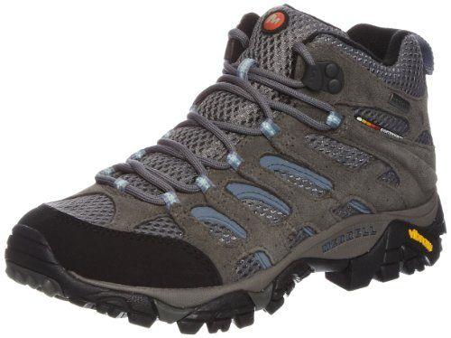 Merrell DARIA MID WTPF - Zapatos de senderismo de cuero mujer, color marrón, talla 36