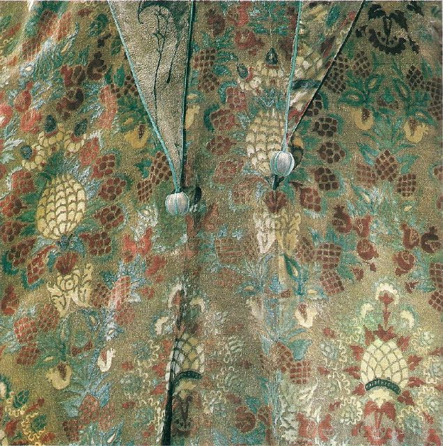 Detail of a hood~ Acquired Objects: Fortuny Final: Silk Velvet