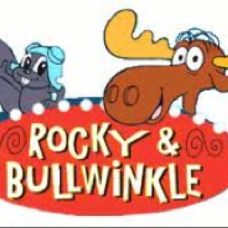 Rocky The Flying Squirrel His Friend Bullwinkle The Moose