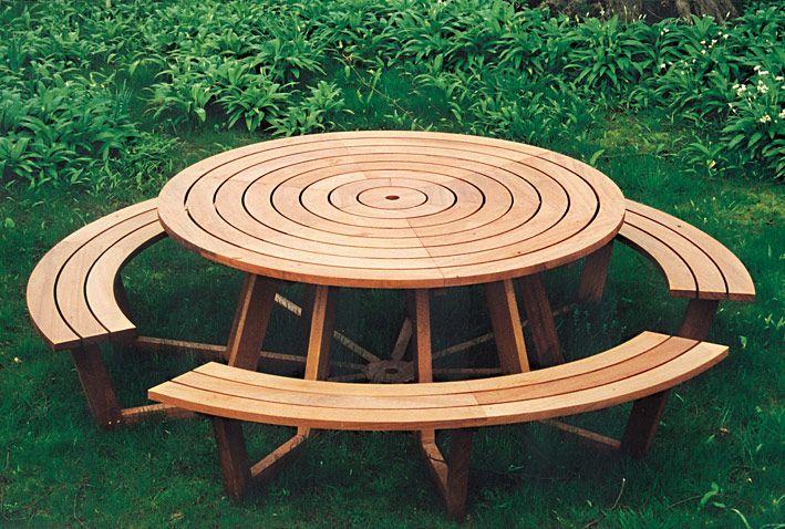 Free Picnic Table Plans Picnic Tables Pinterest