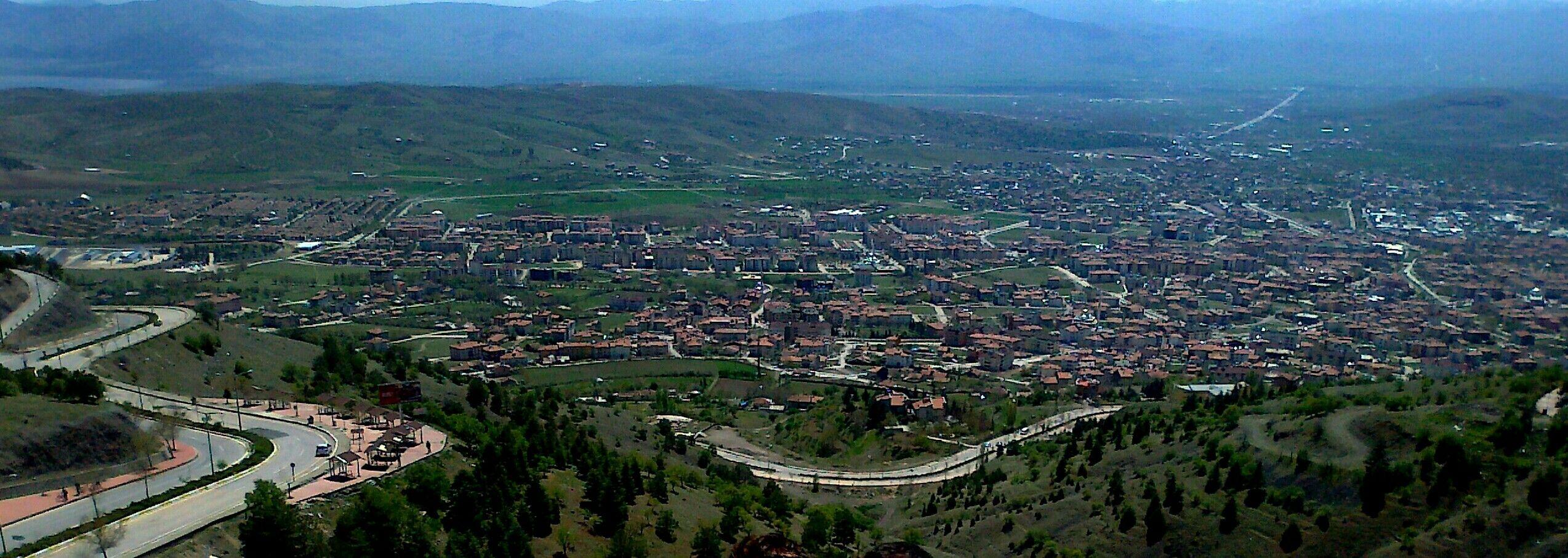 Harput kalesinden Elazığ/TURKEY