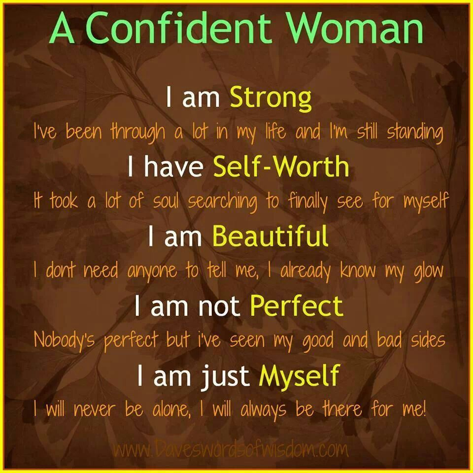Yes I Am A Wonderful Person Confident Women Quotes Confident Woman Woman Quotes