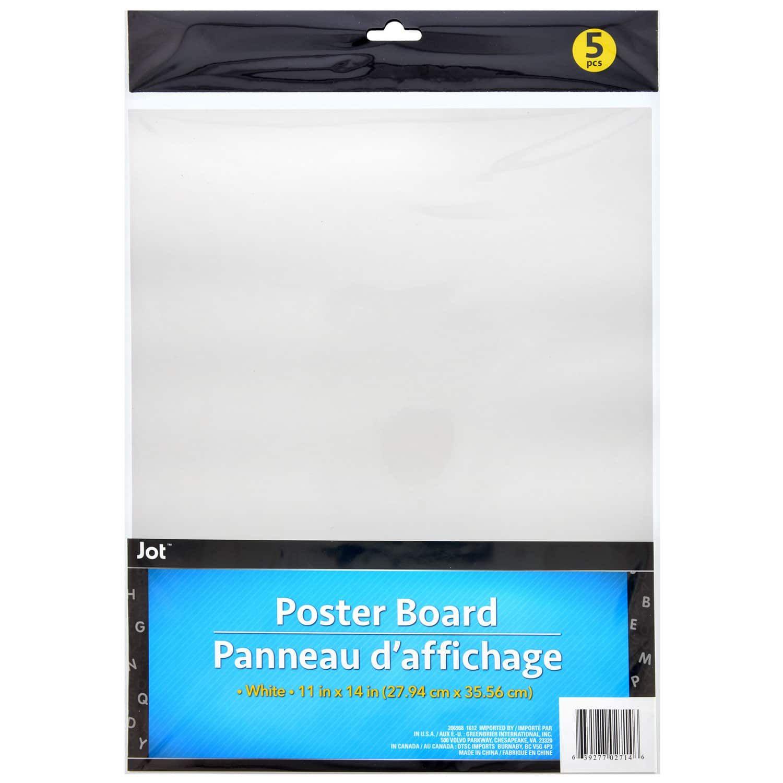 Readi Board White Foam Boards 20x30 In White Poster Board Poster Board Poster