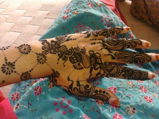 Mehendi made by my friend