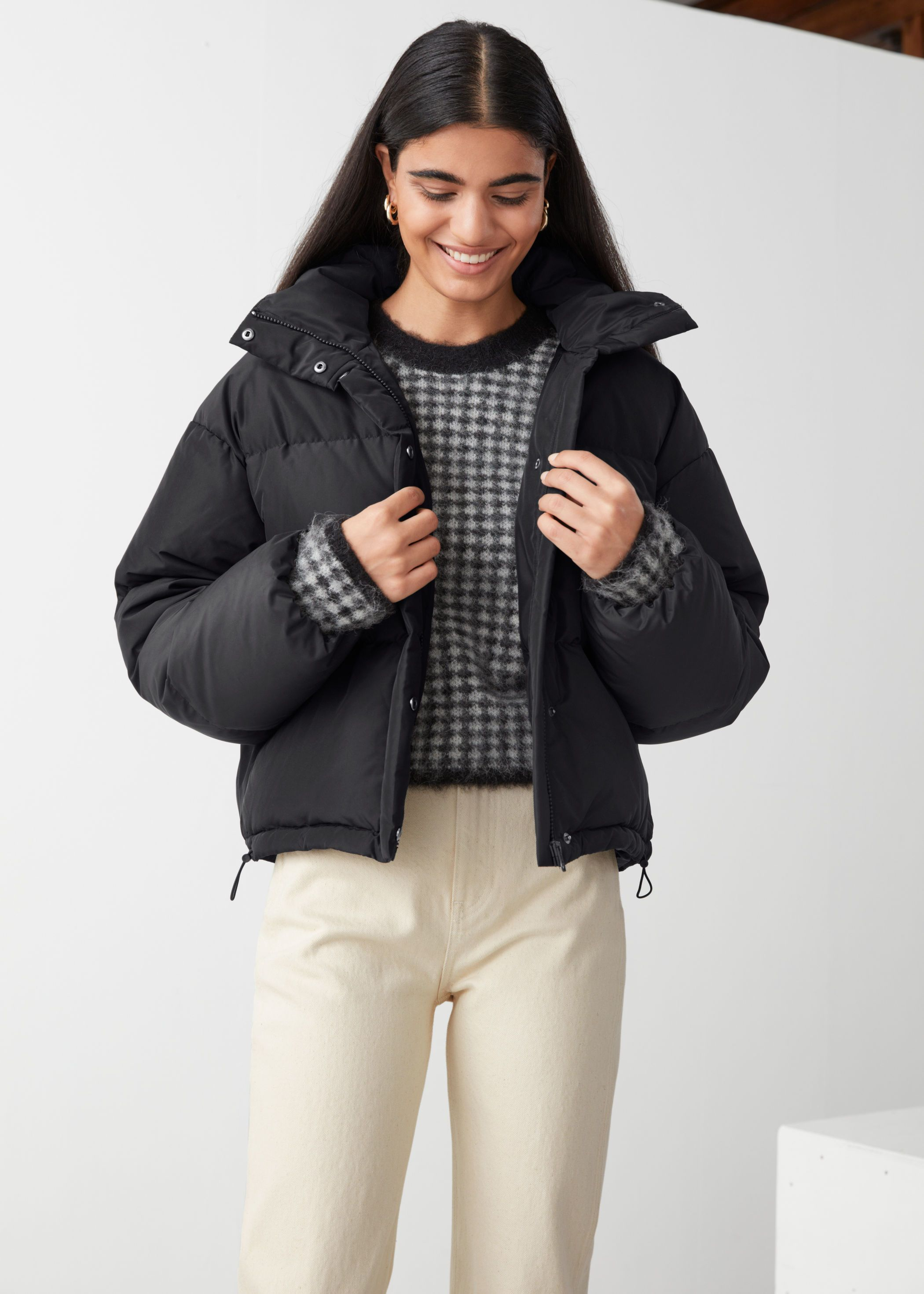 Short Oversized Puffer Jacket Puffer Jacket Outfit Jackets Oversized Puffer Jacket [ 2940 x 2100 Pixel ]