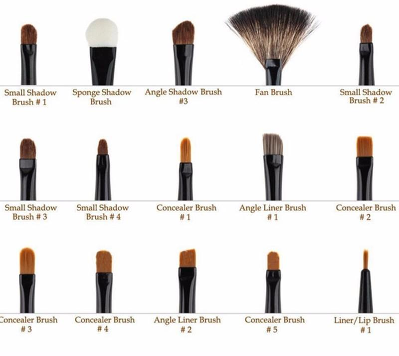 Professional Makeup Brush Set 32 pcs with Case