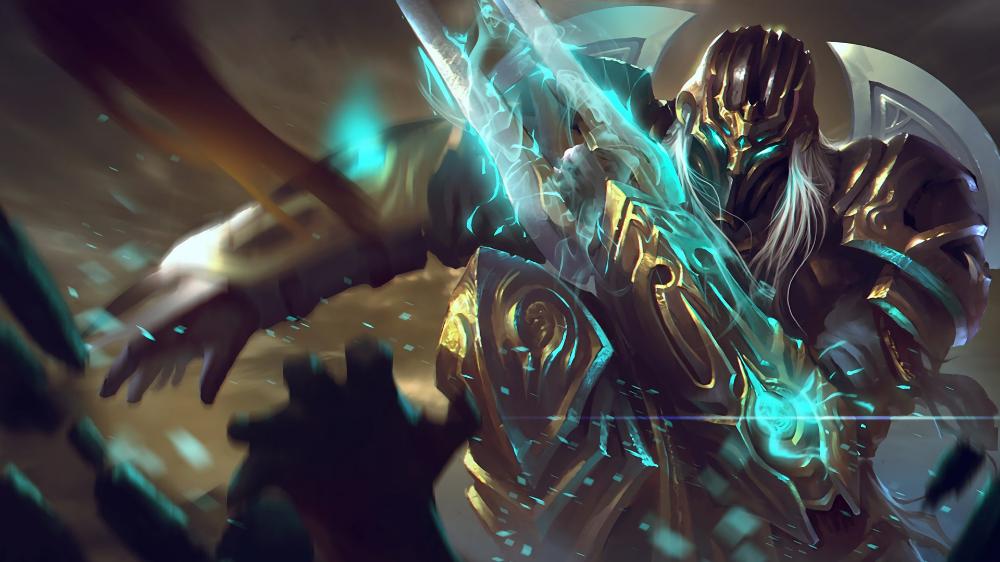 Shadow Templar Video Game League Of Legends Zed League Of