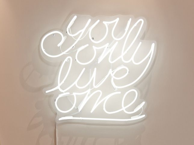 Neon Wall Signs what a bright idea! 10 ways to add neon signs to your decor | more