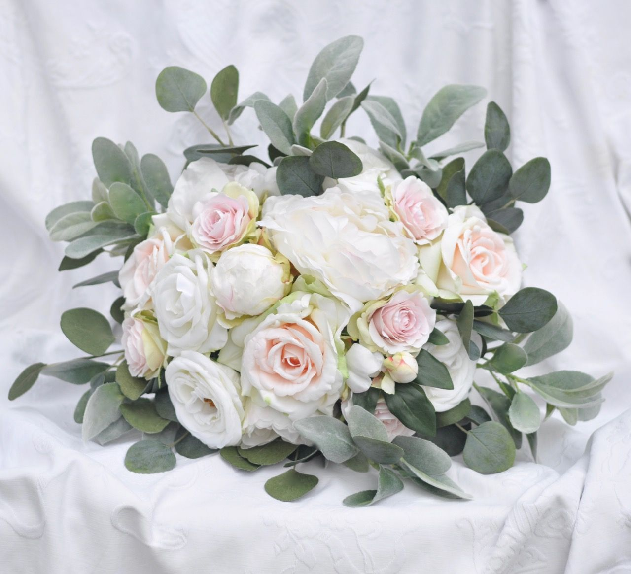 Custom Faux Wedding Flower Bouquets Shipping Worldwide From Hollys