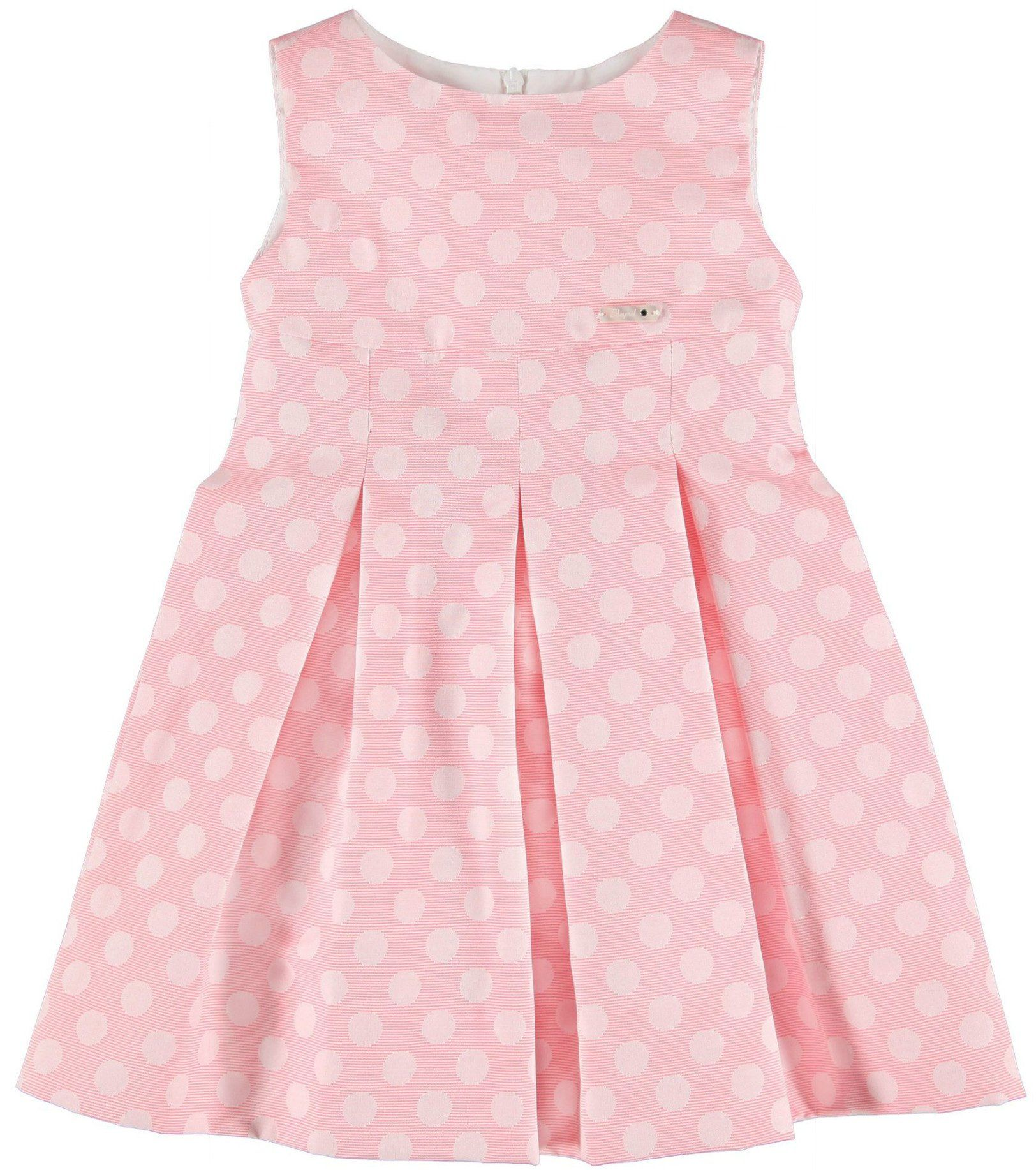 e7b63d446 Sale Spring Summer Mayoral Girls Pink Polka Dots Dress | Cachet Kids ...