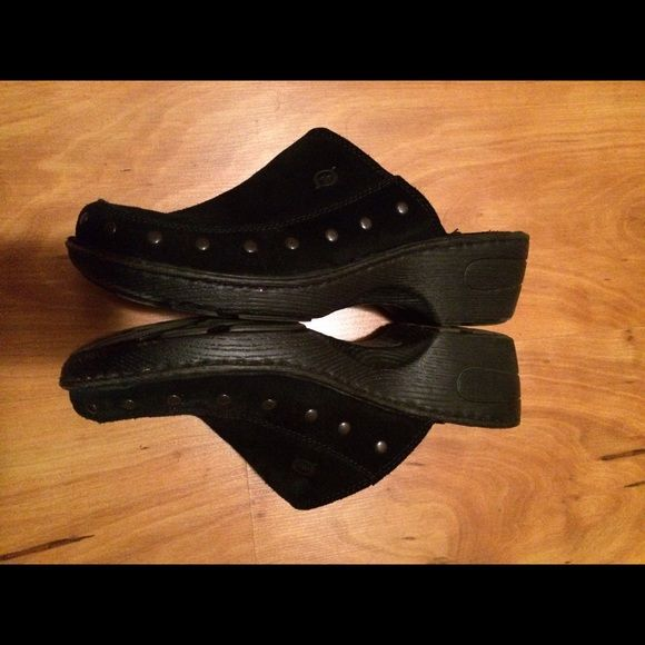 Born clogs size 9. Black Suede. Like new! Born clogs size 9. Black Suede. Like new! Born Shoes Mules & Clogs