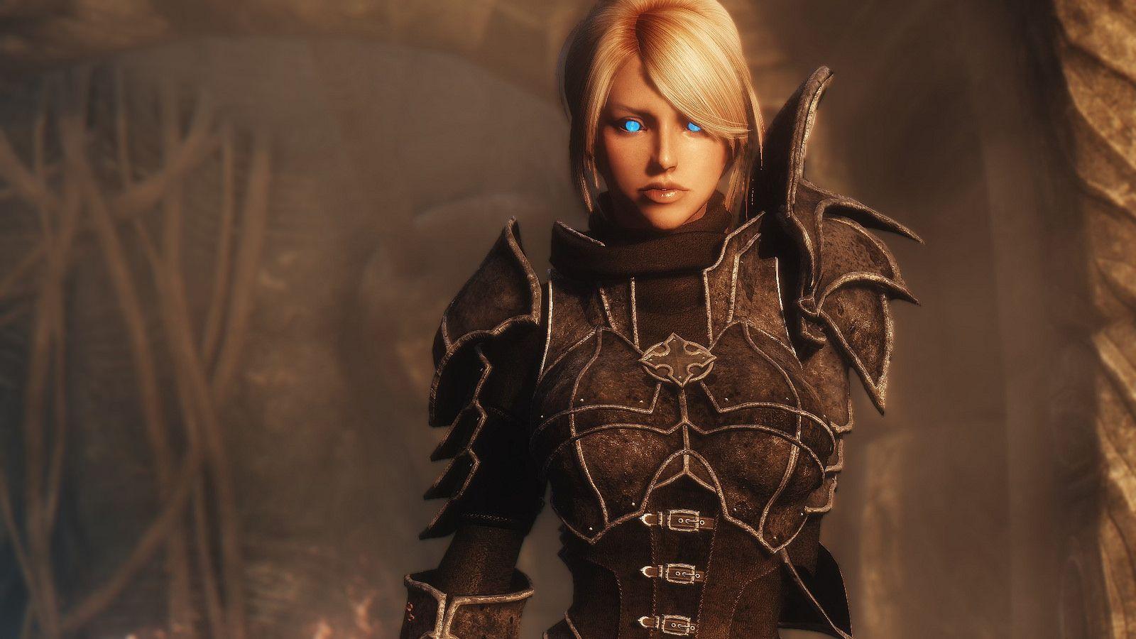 Dark Skyrim Female Armor Mods Skyrim Armor Mods Skyrim Armor
