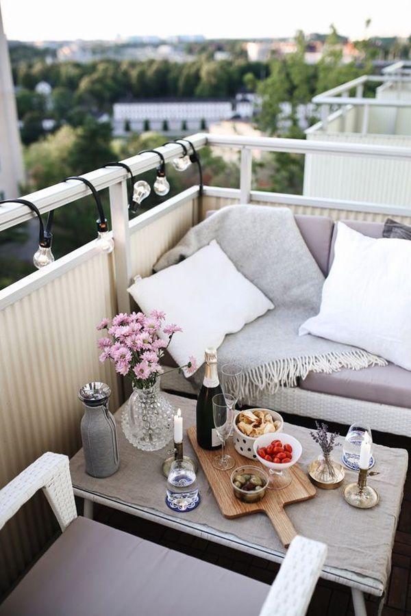 Photo of 24 Chick and Stylish Apartment Balcony Ideas – Haus Dekoration
