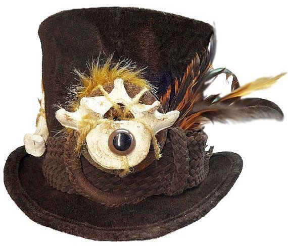 Voodoo Witch Doctor Wild Dapper Victorian by JenkittysCloset, $60.00