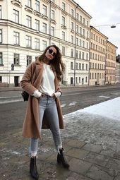 10 einfache Kleiderschrank Essentials für Frauen Minimal Classic Street Styles.,  #Classic #e…