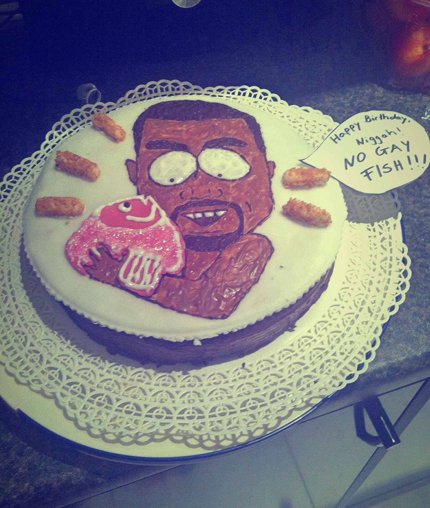 South Park Kanye West Birthday Chocolate Cake Playing With Food