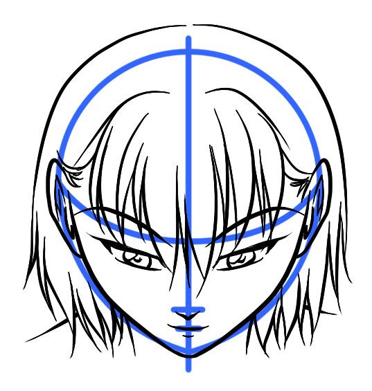 04 Downface2 Jpg 537 565 Anime Art Fantasy Drawings Face Drawing