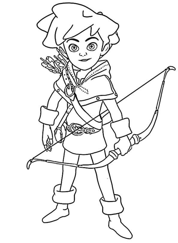 Robin Hood Malvorlagen Robin Hood 12 Ausmalbilder Free