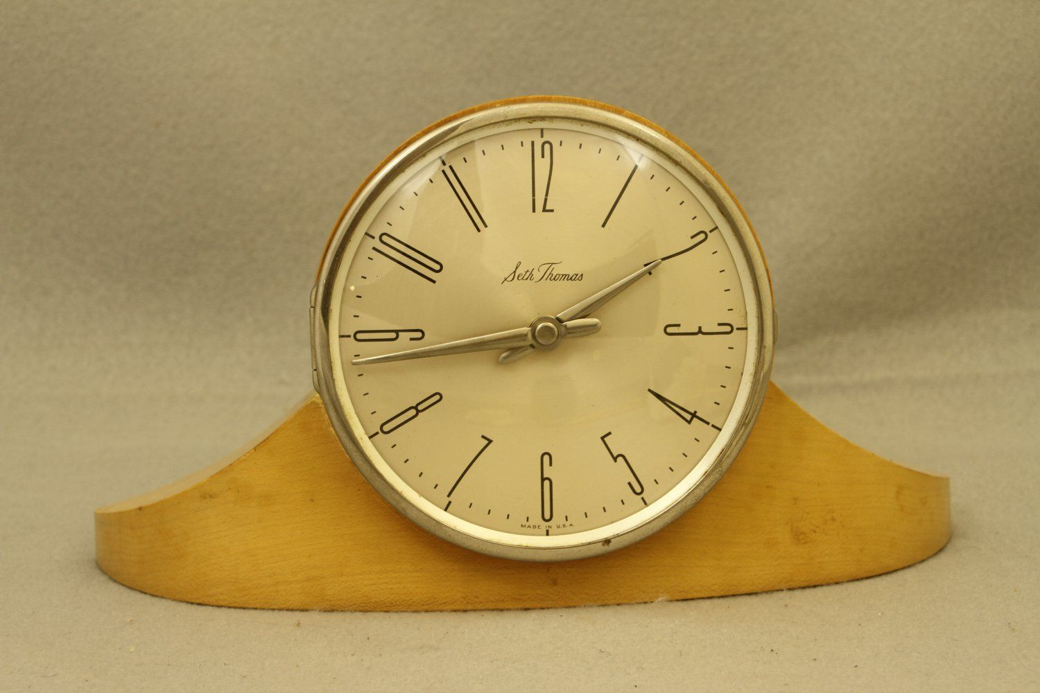 Seth Thomas Art Deco Clock Made in Germany | Antique & Vintage ...
