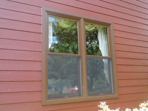 Andersen A Series Doublehung Windows Cocoa Bean Exterior House Renovation Windows Window Contractor