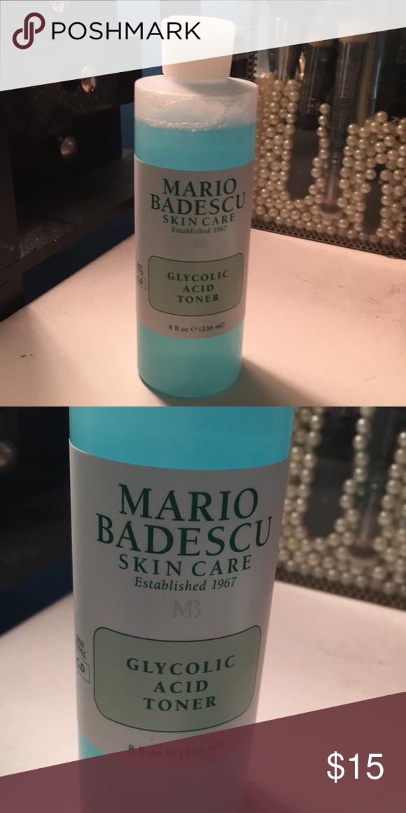 Mario Badescu Glycolic Acid Toner Practically New Only Used