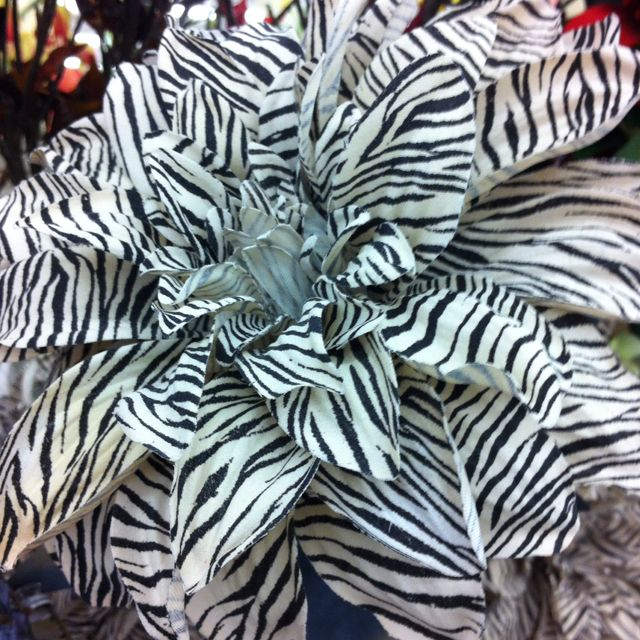 Zebra Print Flowers From Michaels Creative Art Zebra Print