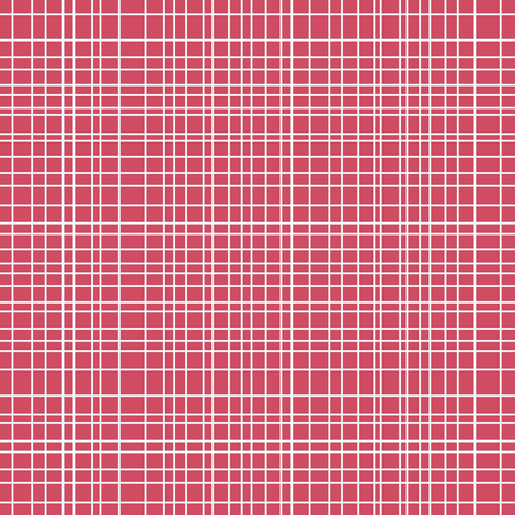 bikini grid fabric by scrummy on Spoonflower - custom fabric Scale ...