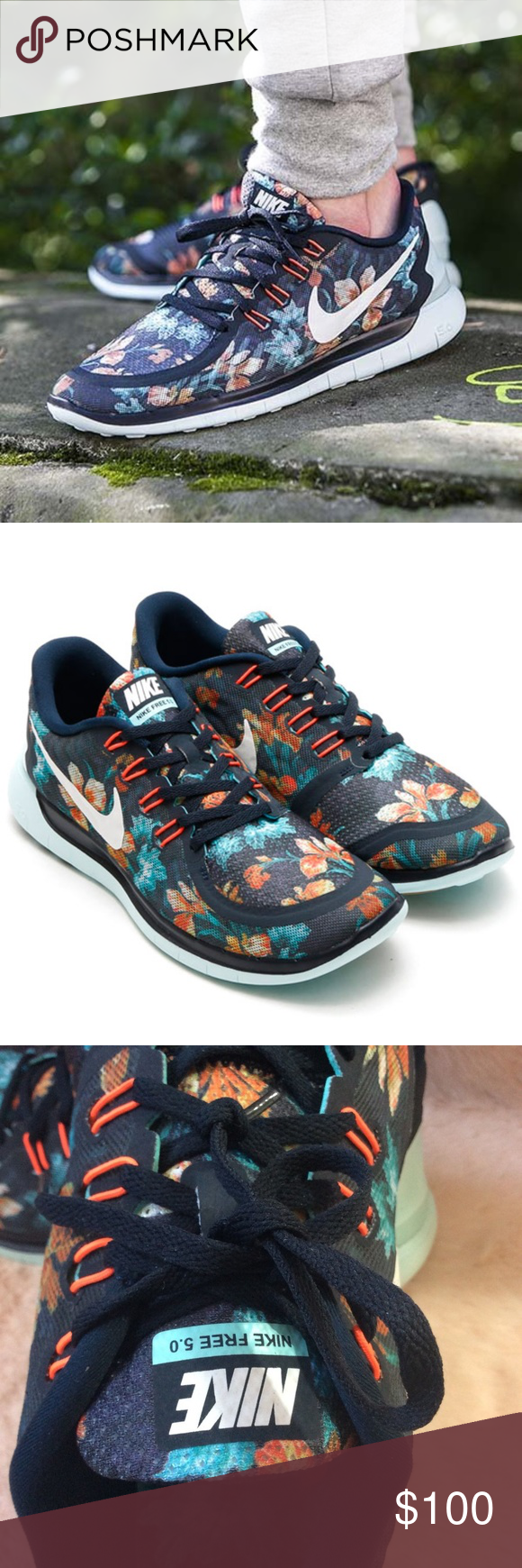 Nike Mens 5.0 Photosynthesis Floral Size 10 Nike Mens 5.0 Photosynthesis  Floral Size 10 Nike Shoes