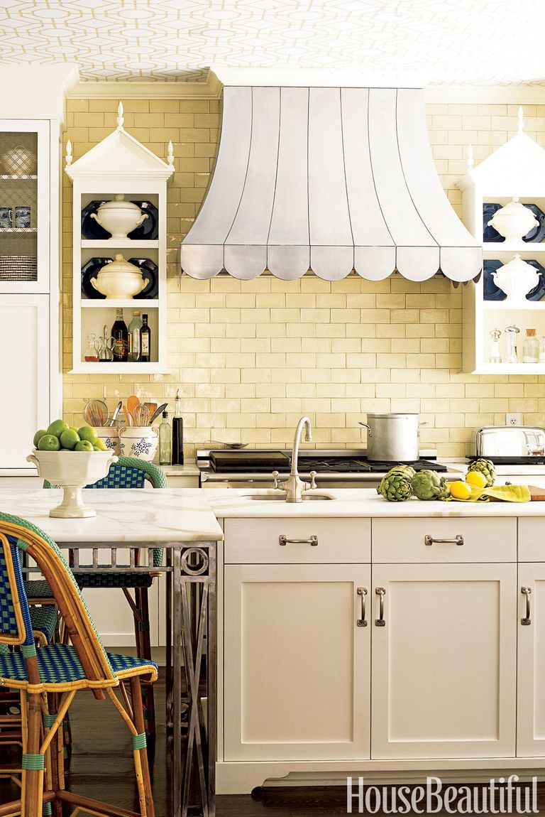 10 Yellow Kitchens That\'ll Make You So Happy | Pinterest | Yellow ...