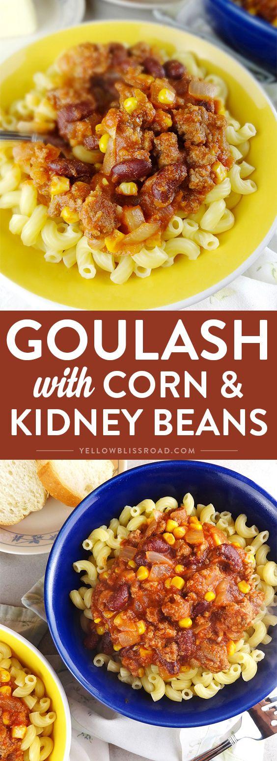 16 ground recipes kidney beans ideas