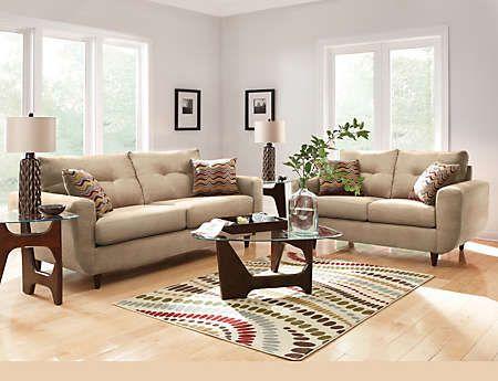 Piece Living Room Package Art Van Furniture Furniture - Art van living room packages