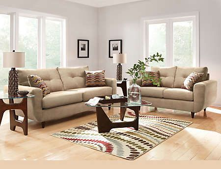 7 piece living room package cool color schemes for art van furniture
