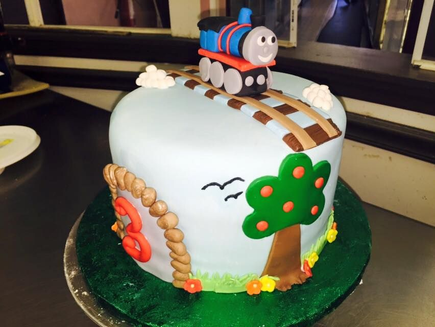 Thomas The Train Cake Birthday Cake Gambinos Bakery New Orleans