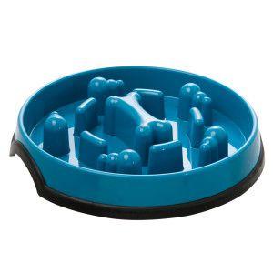 Kong Slow Feed Puzzle Dog Bowl Food Water Bowls Petsmart