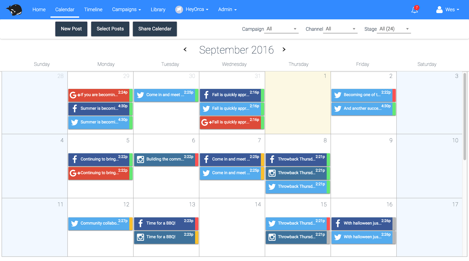Heyorca Makes Social Media Planning And Approvals Easy Seamlessly