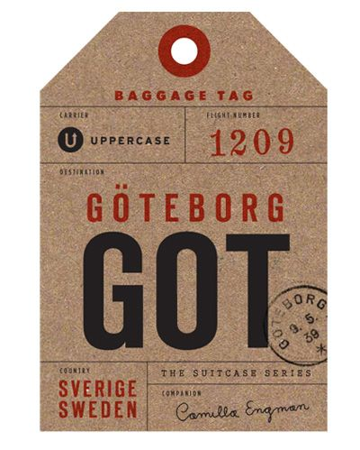 Type Tuesday: Luggage Tags | Hang tags, Swing tags and Typography