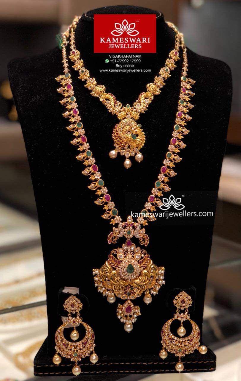 Pin by lakshmi donepudi on kameswari jewellers pinterest jewelry