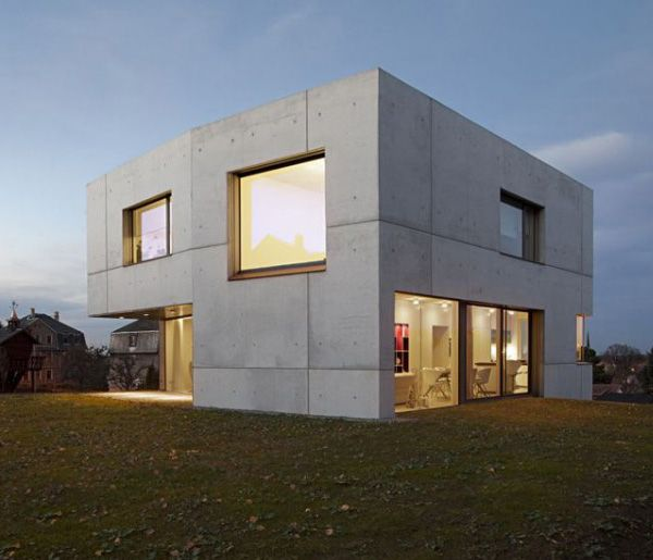 Concrete Home Designs Minimalist In Germany With Images