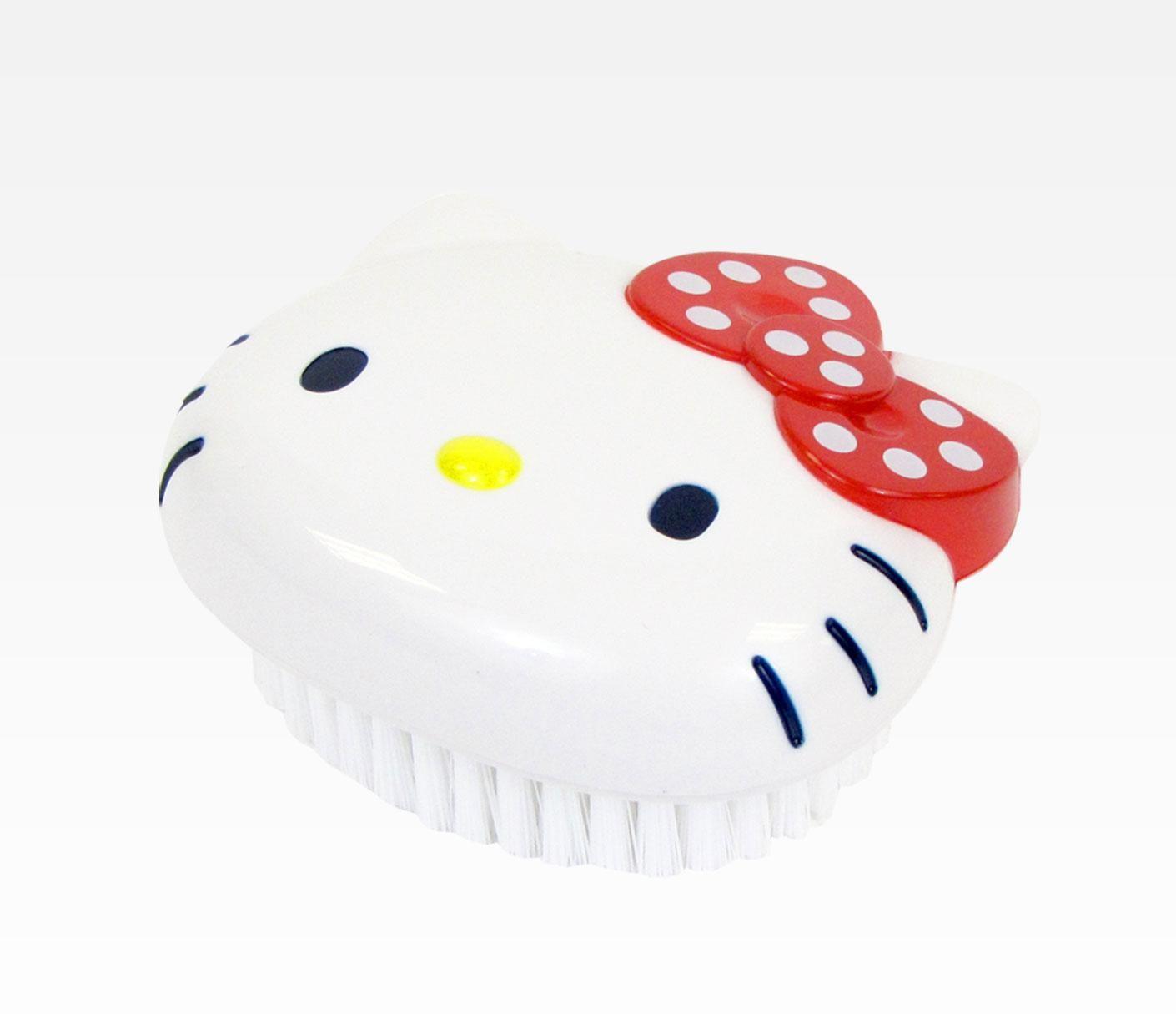 Hello Kitty Kitchen Brush: White Dot Ribbon in Characters Hello ...