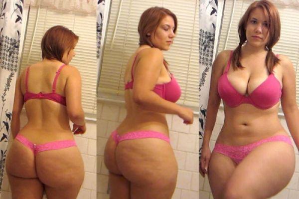 Girl with chubby ass