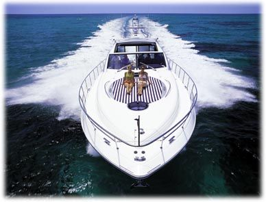 Charter Yacht Insurance for high speed performance yachts.