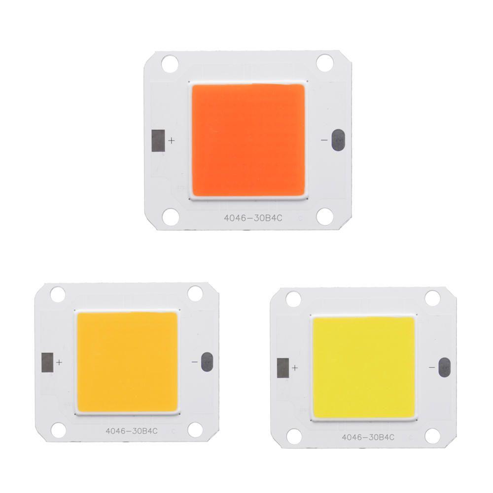 Lustreon AC220V-240V 20W//30W//50W Full Spectrum 380-840NM Cob Led Grow Light Chip
